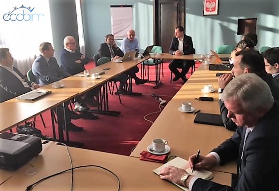 spotkanie rady fundacji eccbim , wydarzenie bim